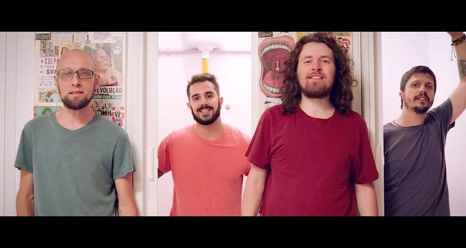 João Oliveira, Diego Luz, Gustavo Lessa e Pedro Freire